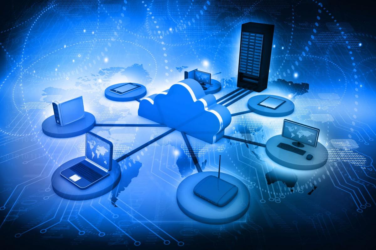 Flou Cloud computing network