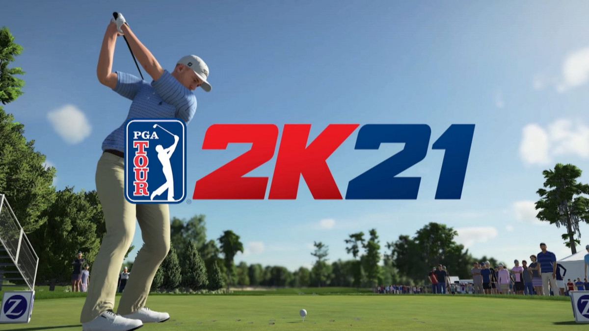game konsol PGA Tour 2K21