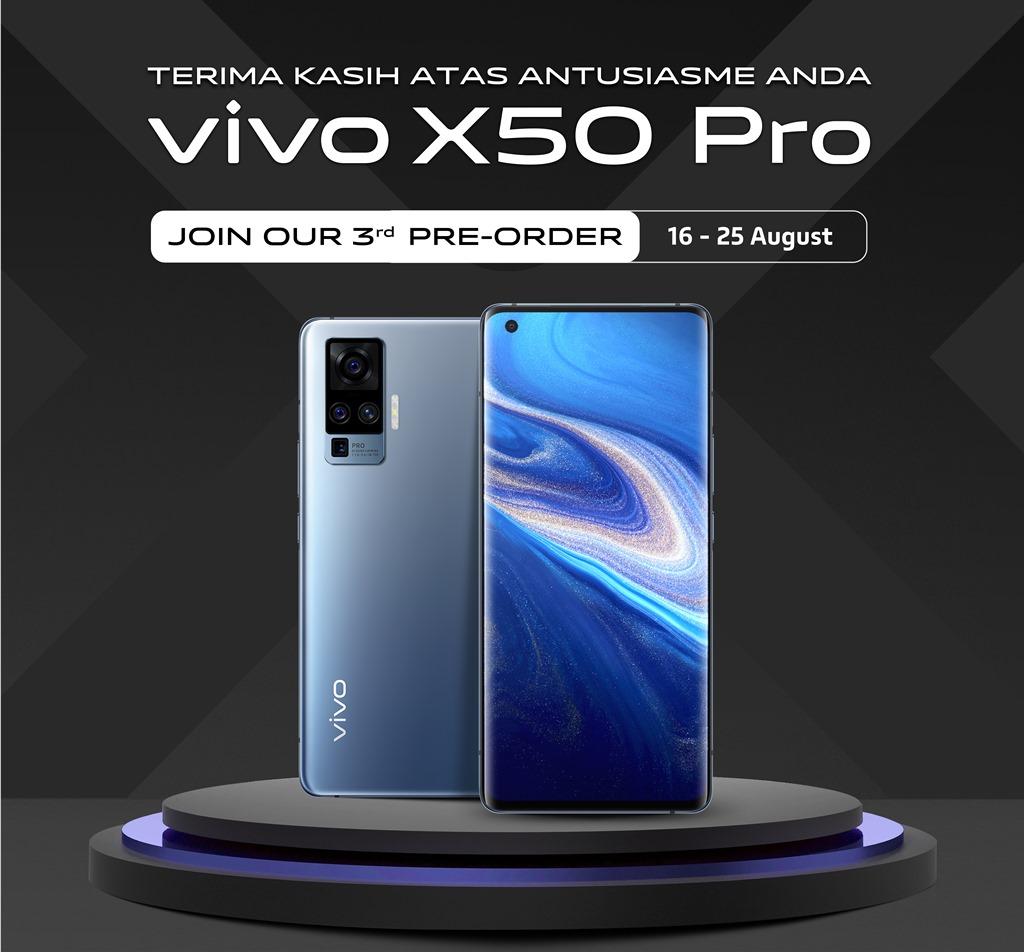 vivo X50 Pro Pre-order