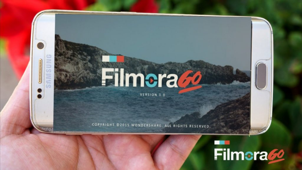 Aplikasi pengeditan video FilmoraGo