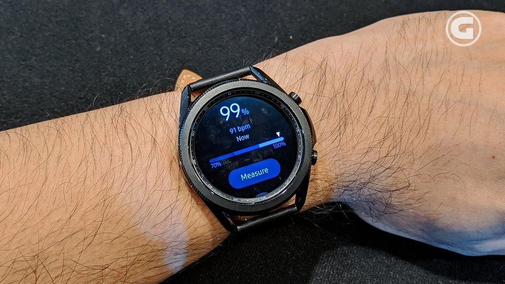Blood Oxygen monitoring Galaxy Watch3