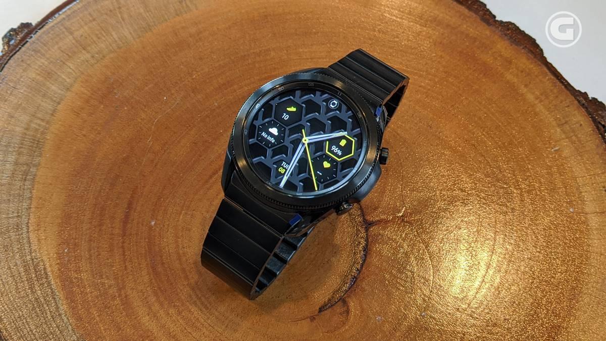 Galaxy Watch3 Titanium