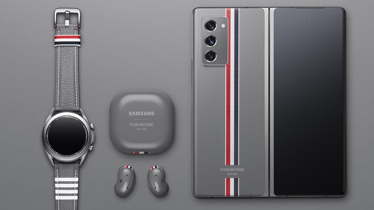 Samsung Galaxy Z Fold2 Thom Browne Edition.