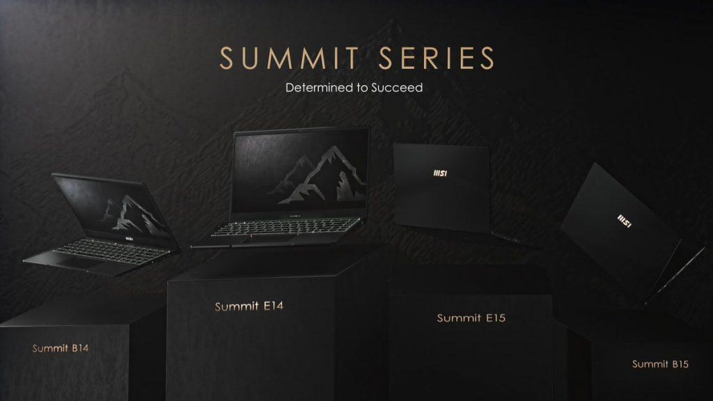 Spesifikasi MSI Summit laptop bisnis