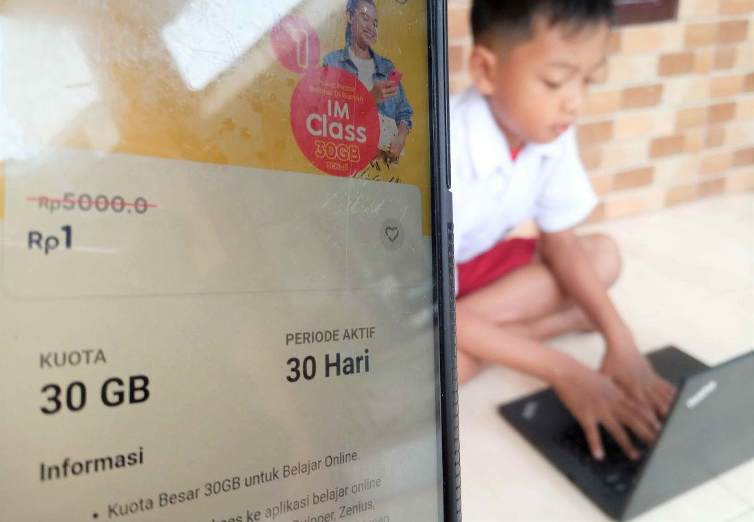 Paket IMClass 30GB Indosat PJJ Tahap II