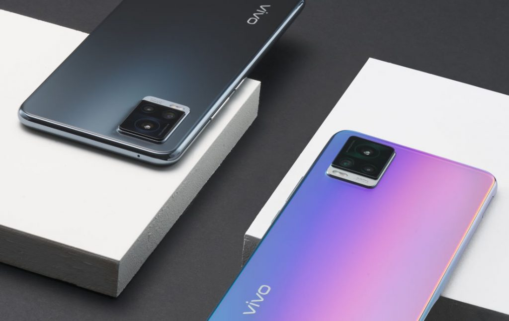 Pilihan warna Vivo V20