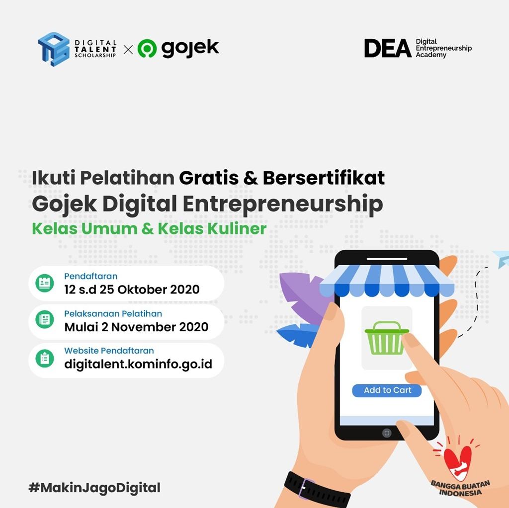 Digital Entrepreneurship Gojek Kominfo