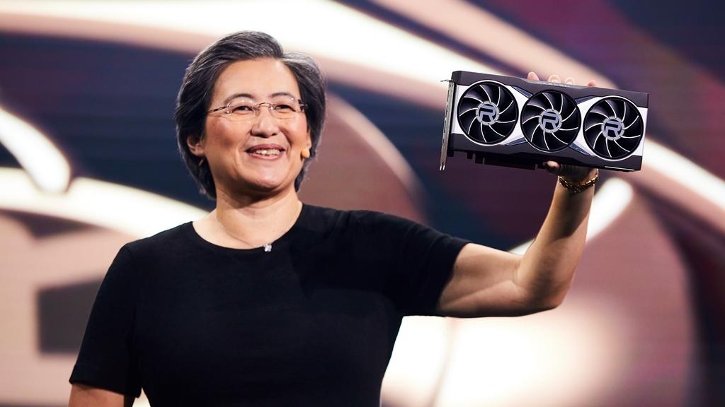 Dr Lisa, AMD CEO, Radeon RX 6000 series