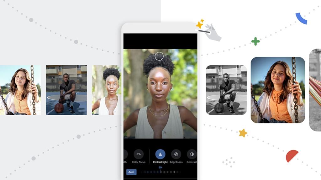 Portrait Light Google Photos