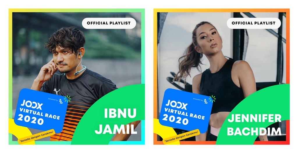 JOOX Virtual Race official playlist