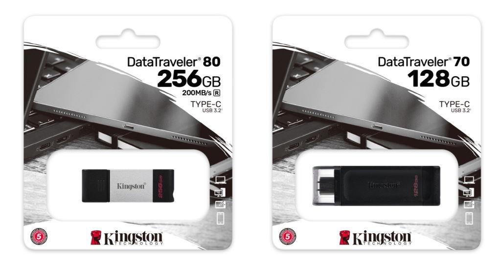 Harga Kingston DataTraveler 80 & DT70