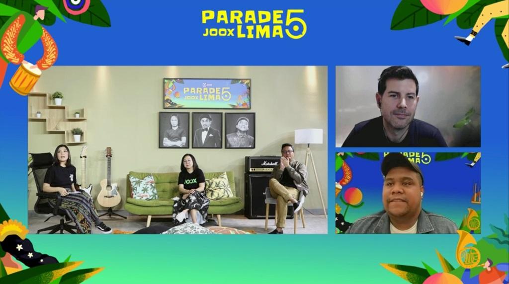 Konferensi Pers Virtual Parade JOOX Lima