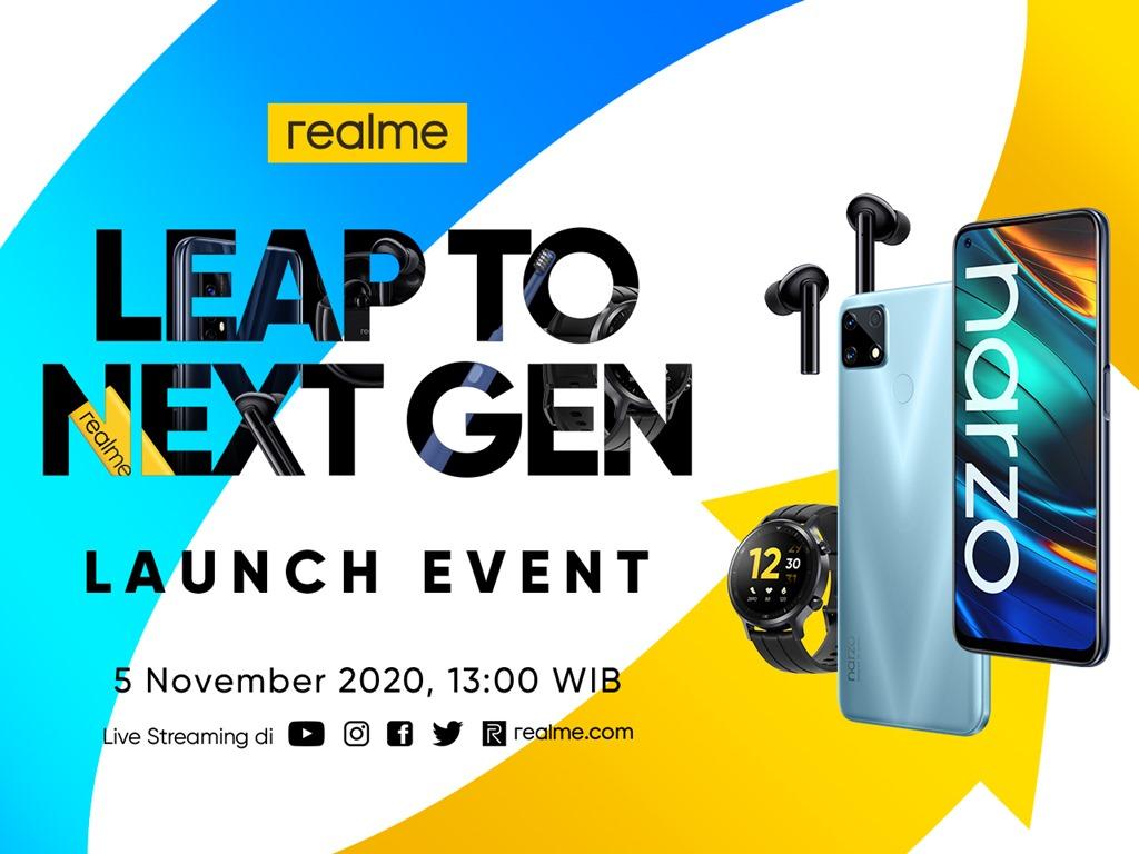 realme Leap to Next Gen