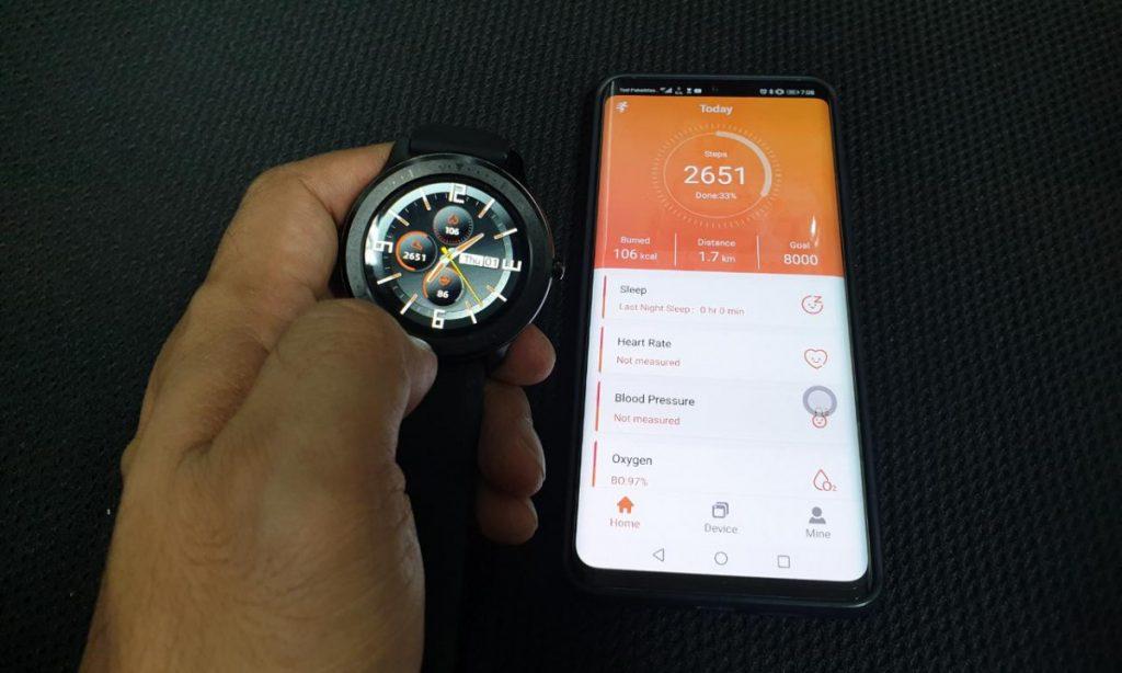 OASE Watch aplikasi FitCloud Pro