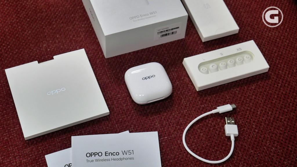 Kelengkapan OPPO Enco W51