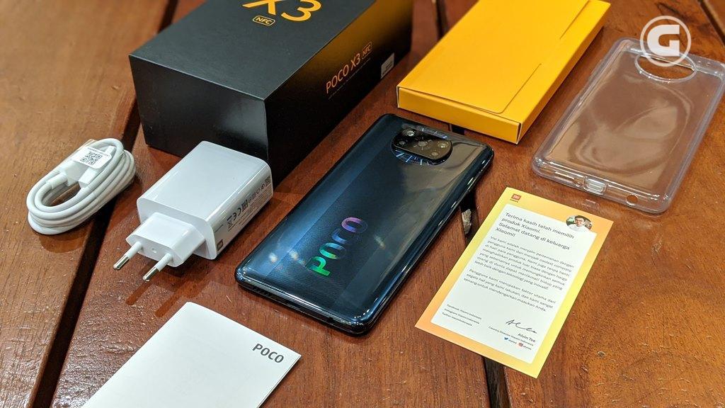 Kelengkapan Poco X3 NFC