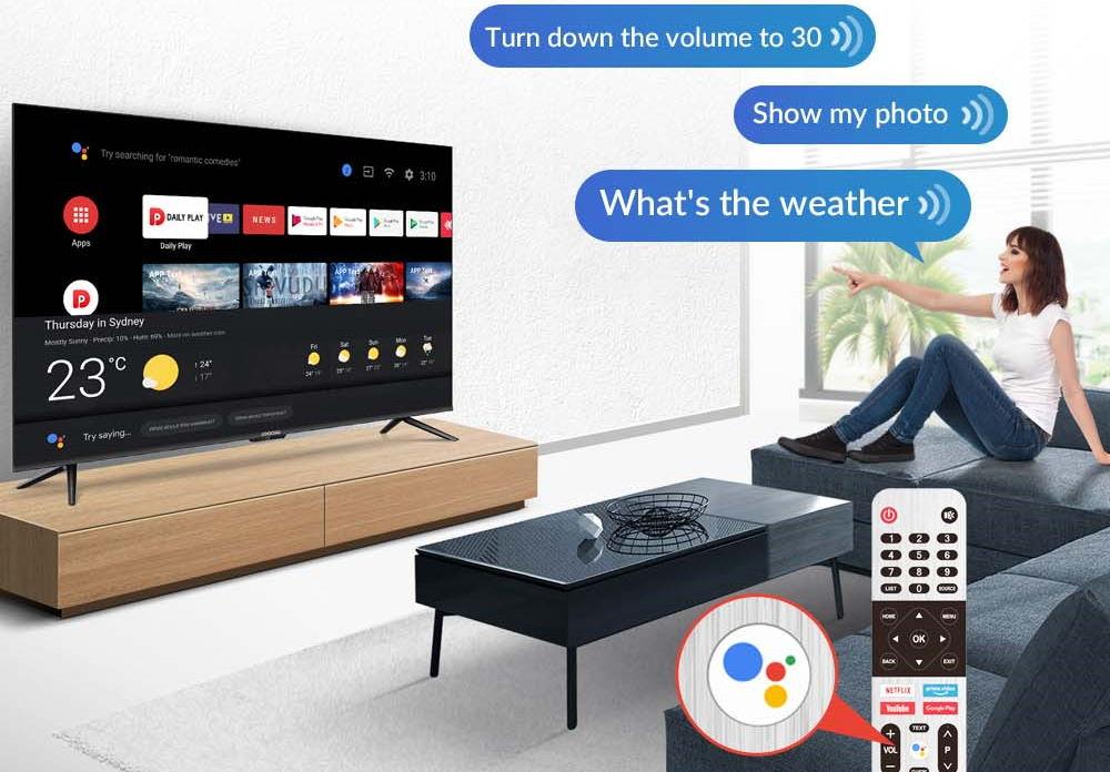 TV COOCAA CUC7500 Android 10
