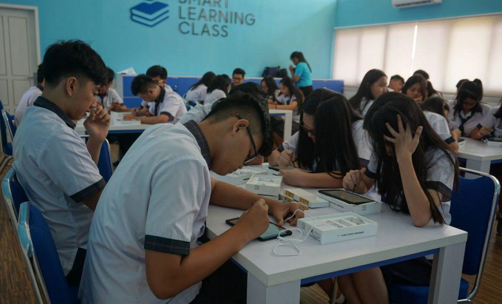 program Samsung Smart Learning Class Bangka