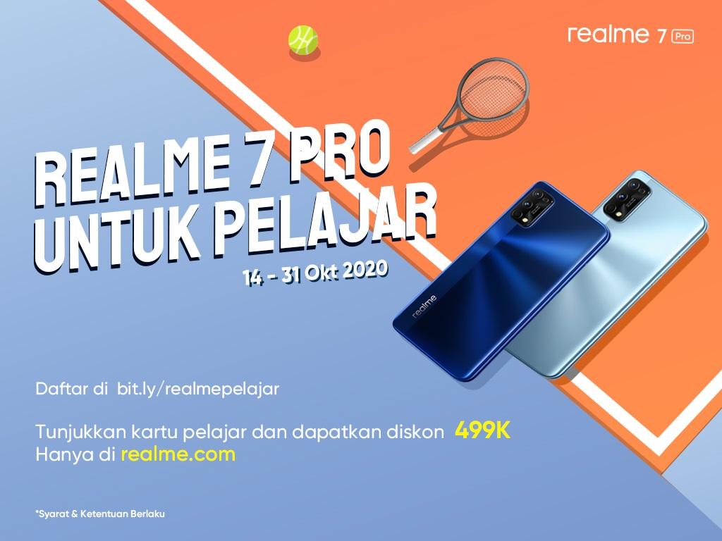 realme 7 Pro untuk Siswa