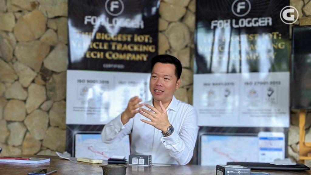 Alamsyah Cheung, CEO Fox Logger