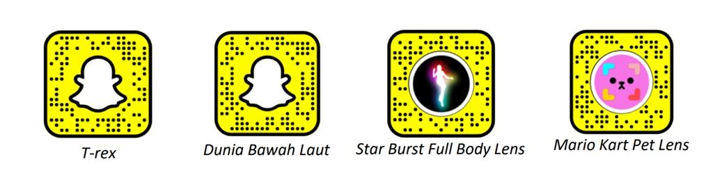 Lensa AR Snapchat