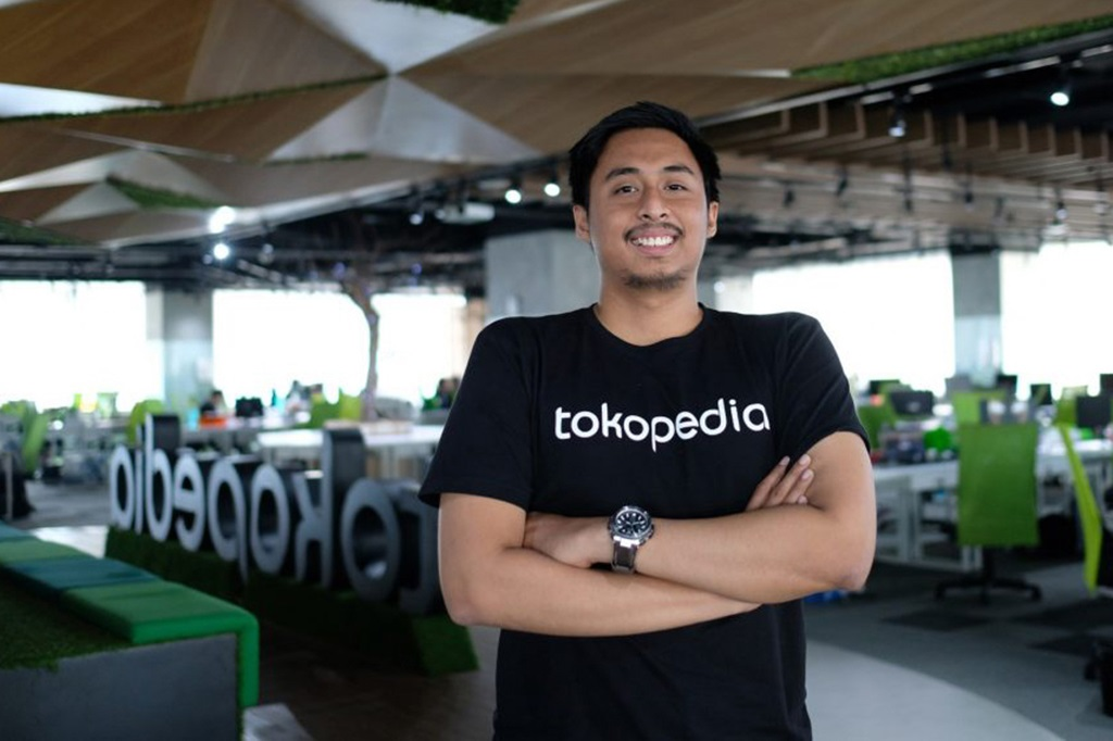 Head of engineering Tokopedia, Rico Harisin