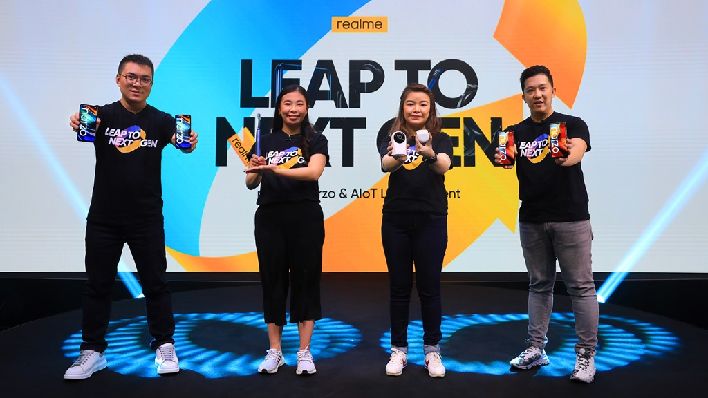 realme Leap to Next Gen