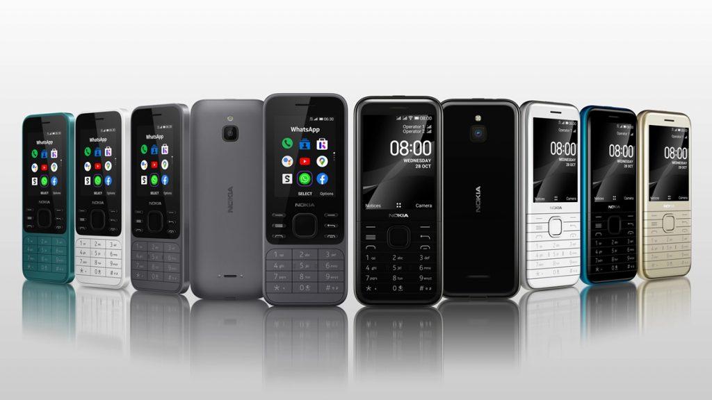 Nokia 6300 4G & Nokia 8000 4G