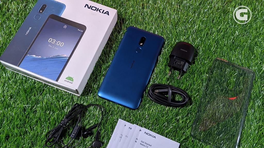 Kelengkapan Nokia C3