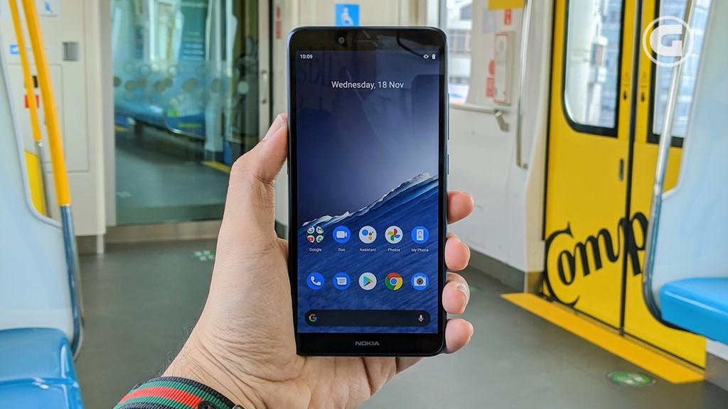 Layar Nokia C3