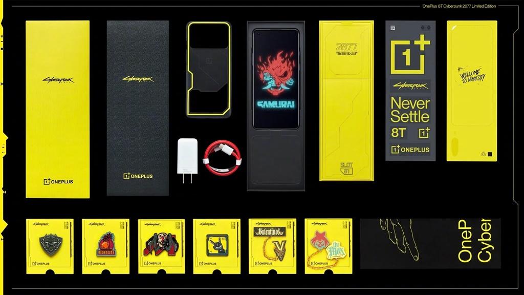 Oneplus 8t Edisi Cyberpunk 2077 Punya Desain Kamera Unik