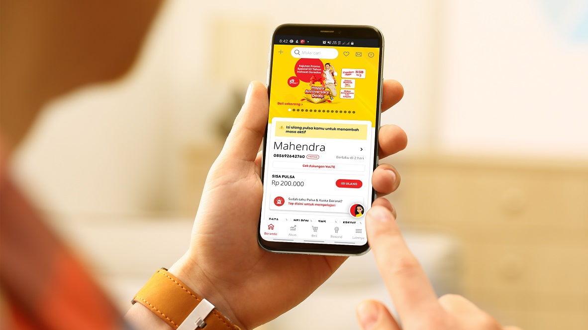 Promo Spesial 53tahun Indosat Freedom Apps