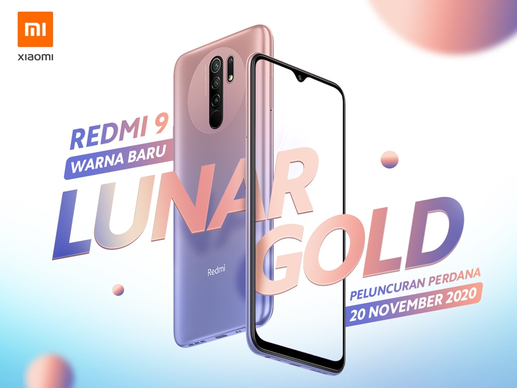 Redmi 9 Lunar Gold