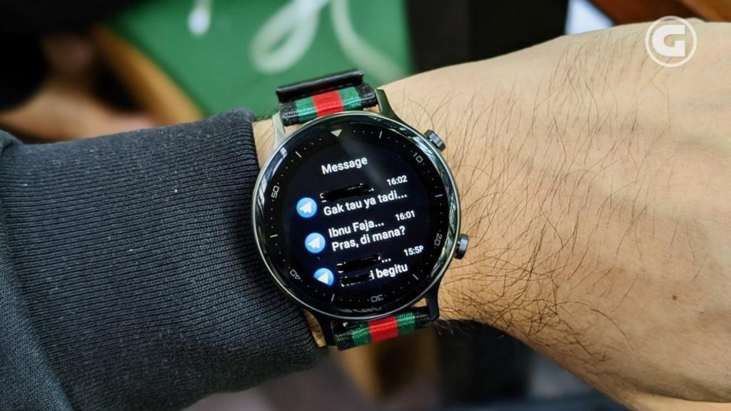Notifikasi realme Watch S