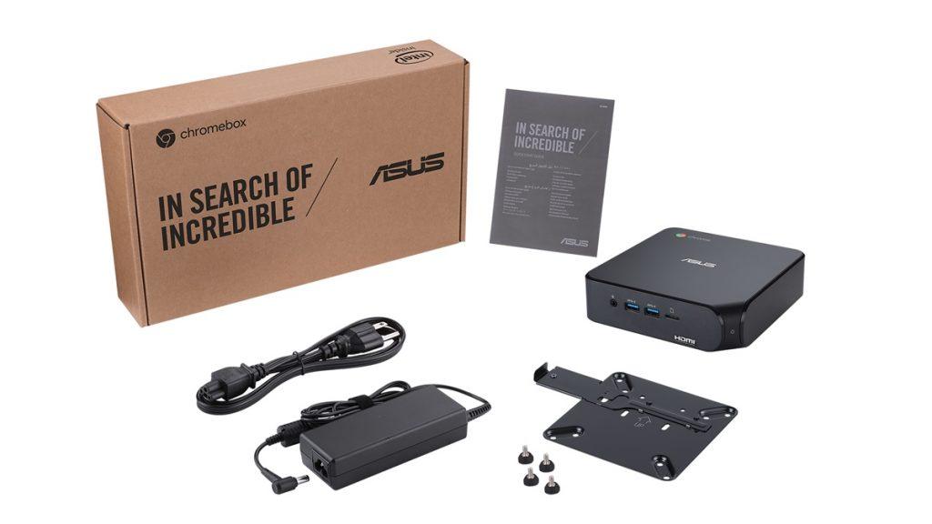 Kelengkapan ASUS Chromebox 4