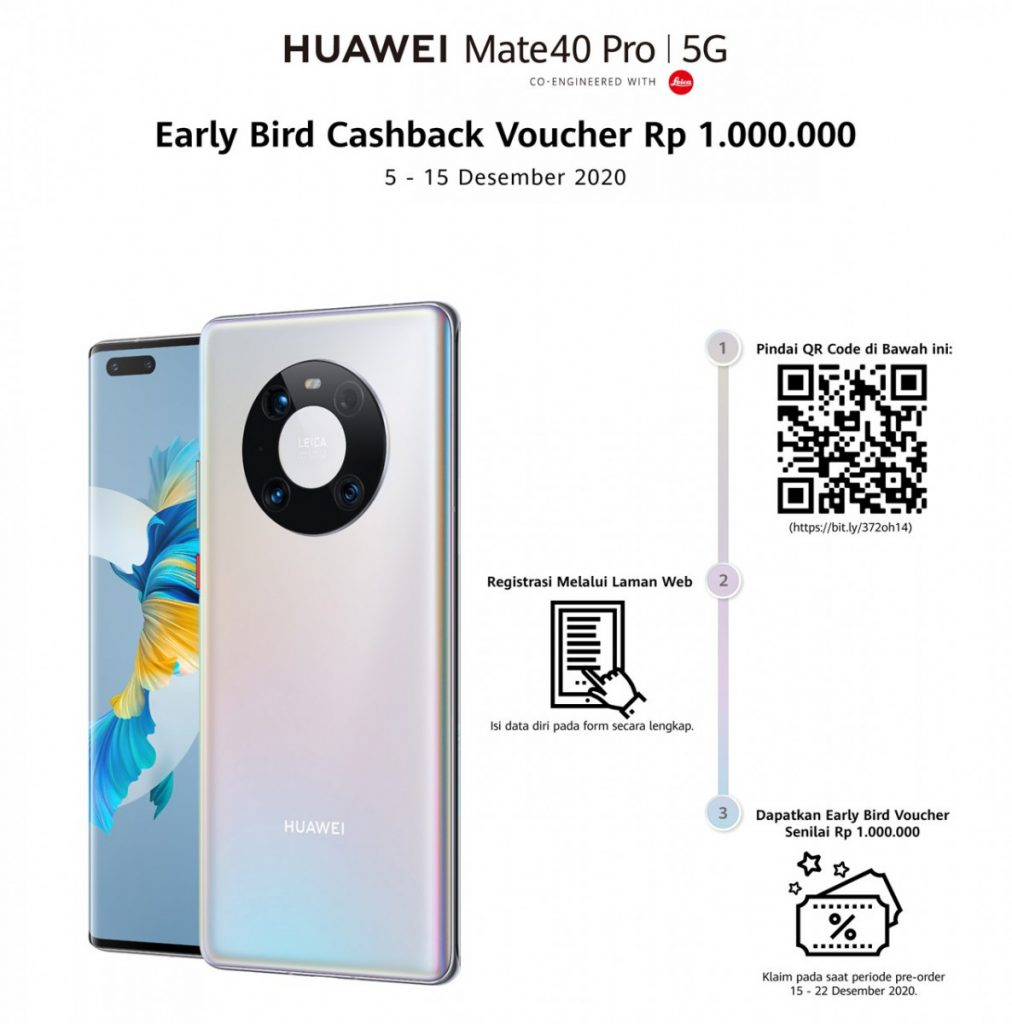 Huawei Mate 40 Pro pre-order