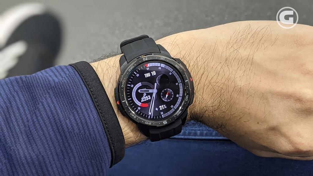 Layar Honor Watch GS Pro