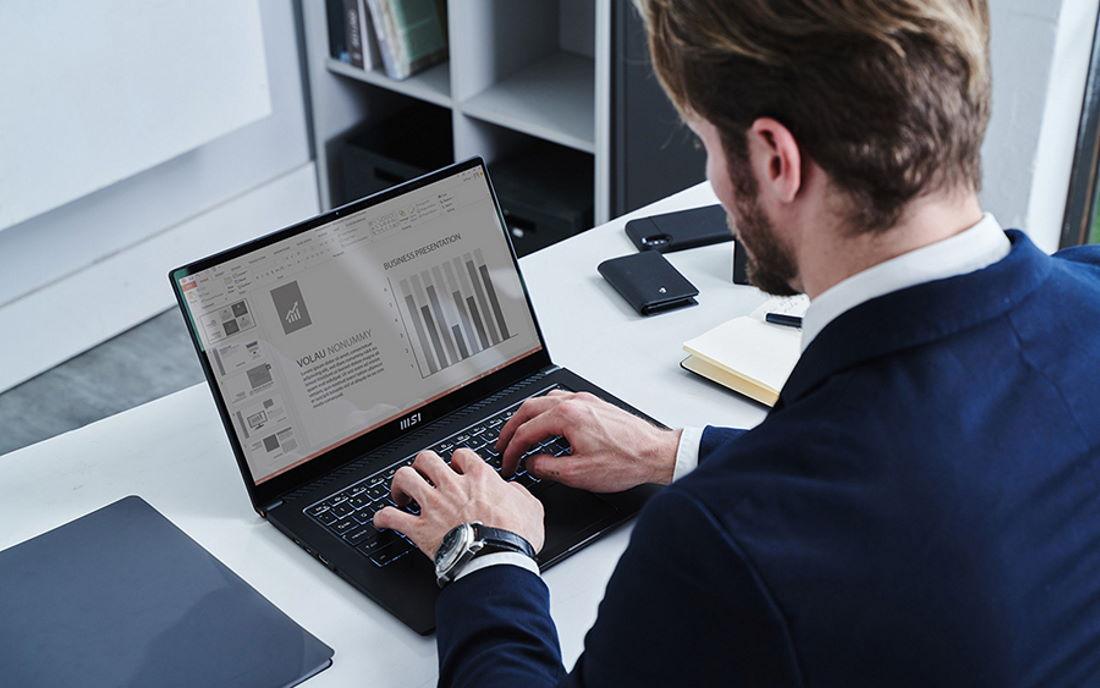 Laptop Bisnis MSI