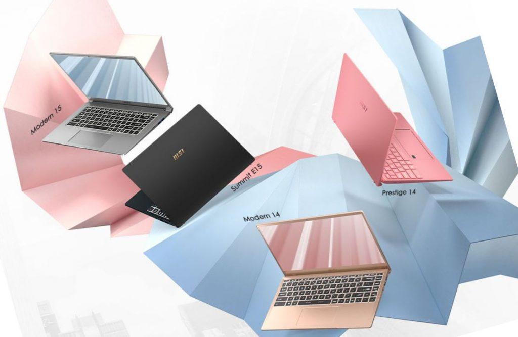 MSI bisnis laptop