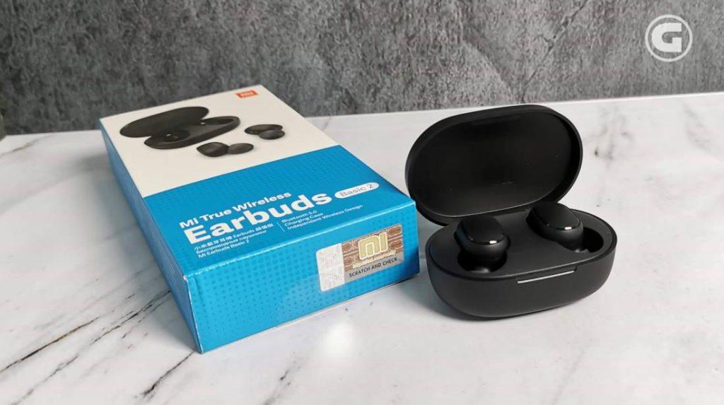 Desain Mi True Wireless Earbuds Basic 2