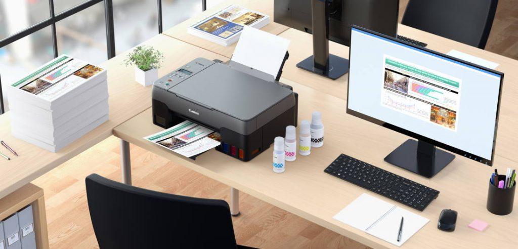 jajaran printer ink tank canon pixma g