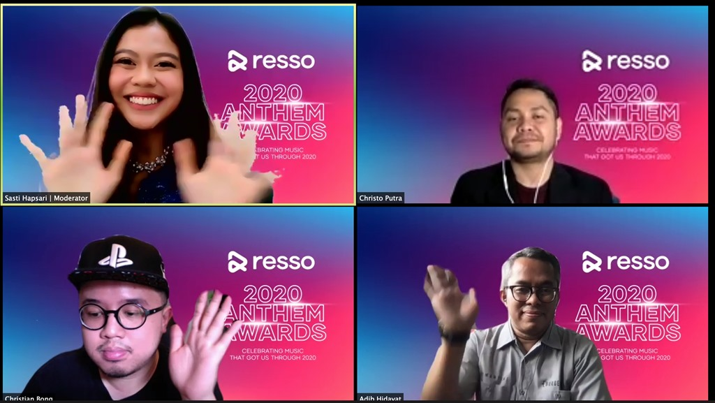 Resso Indonesia 2020 Anthem Awards Webinar
