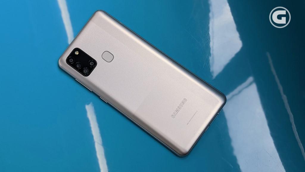 Desain Samsung Galaxy A21s