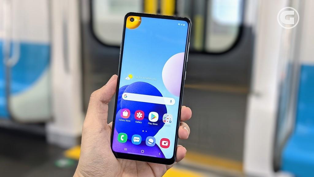 Layar Samsung Galaxy A21s