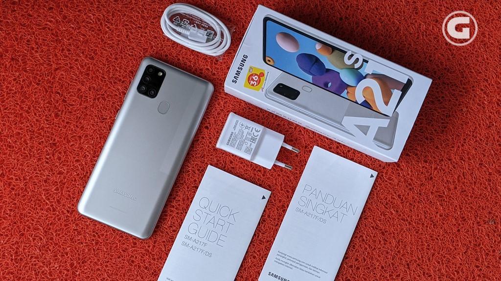 Kelengkapan Samsung Galaxy A21s