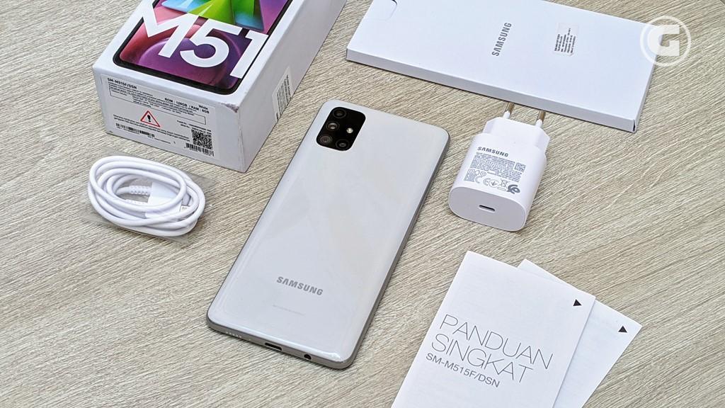 Kelengkapan Samsung Galaxy M51