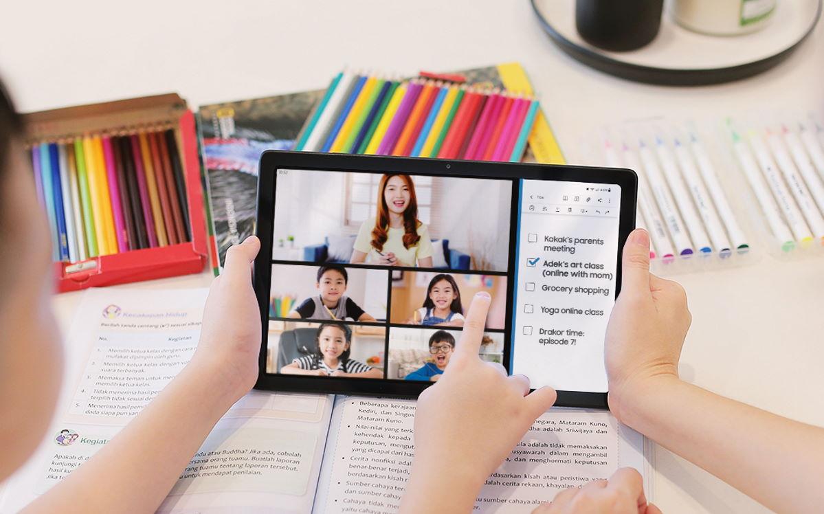 Samsung Galaxy Tab A7 belajar