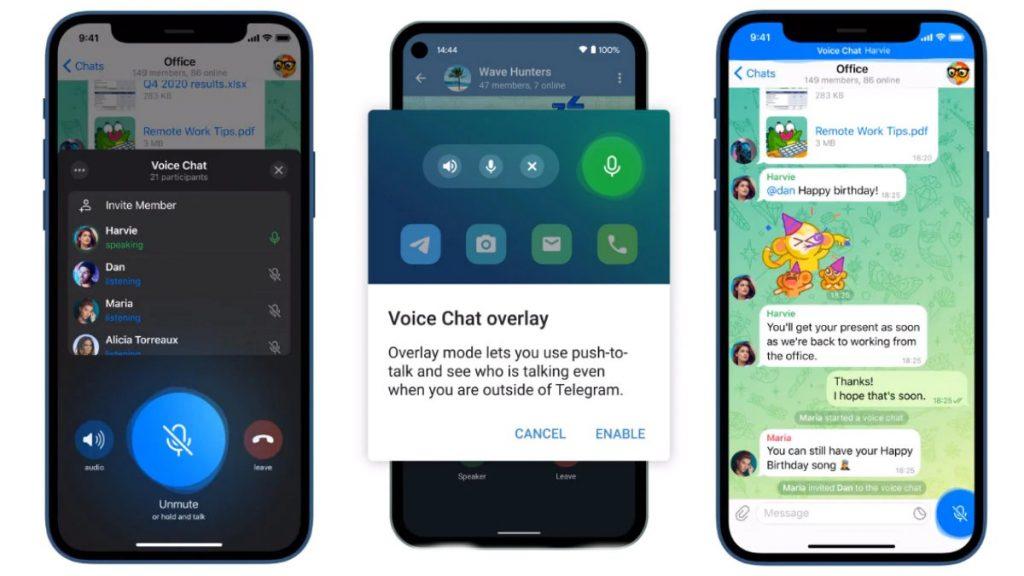 Telegram Group Voice Chat