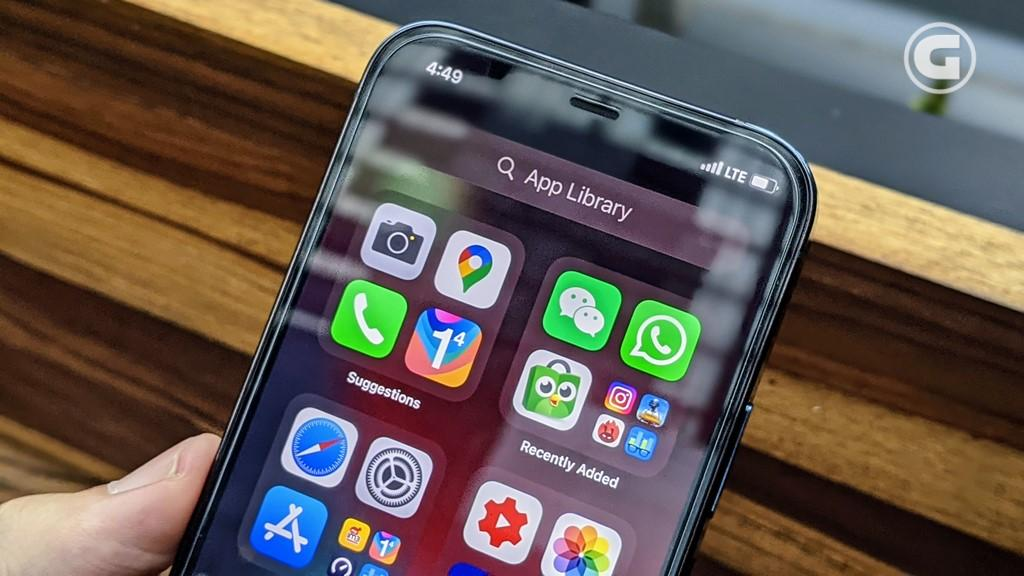 iOS 14 iPhone 12 Pro