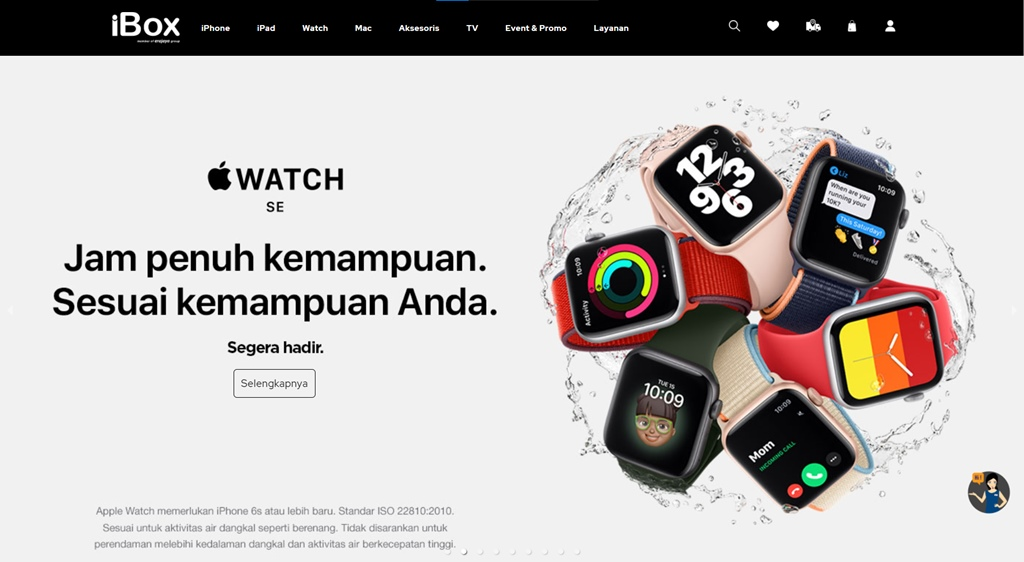 banner apple watch series 6 se ibox